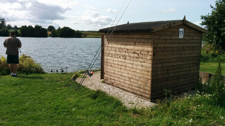 Fishing hut Baden Hall